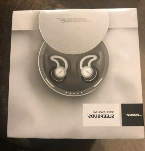 Bose Sleepbuds Wireless Noise-Masking earbuds Brand New Seal