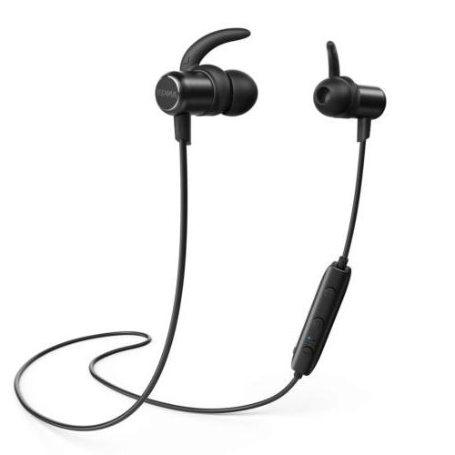 Anker Slim Lightweight Headphones with Magnetic