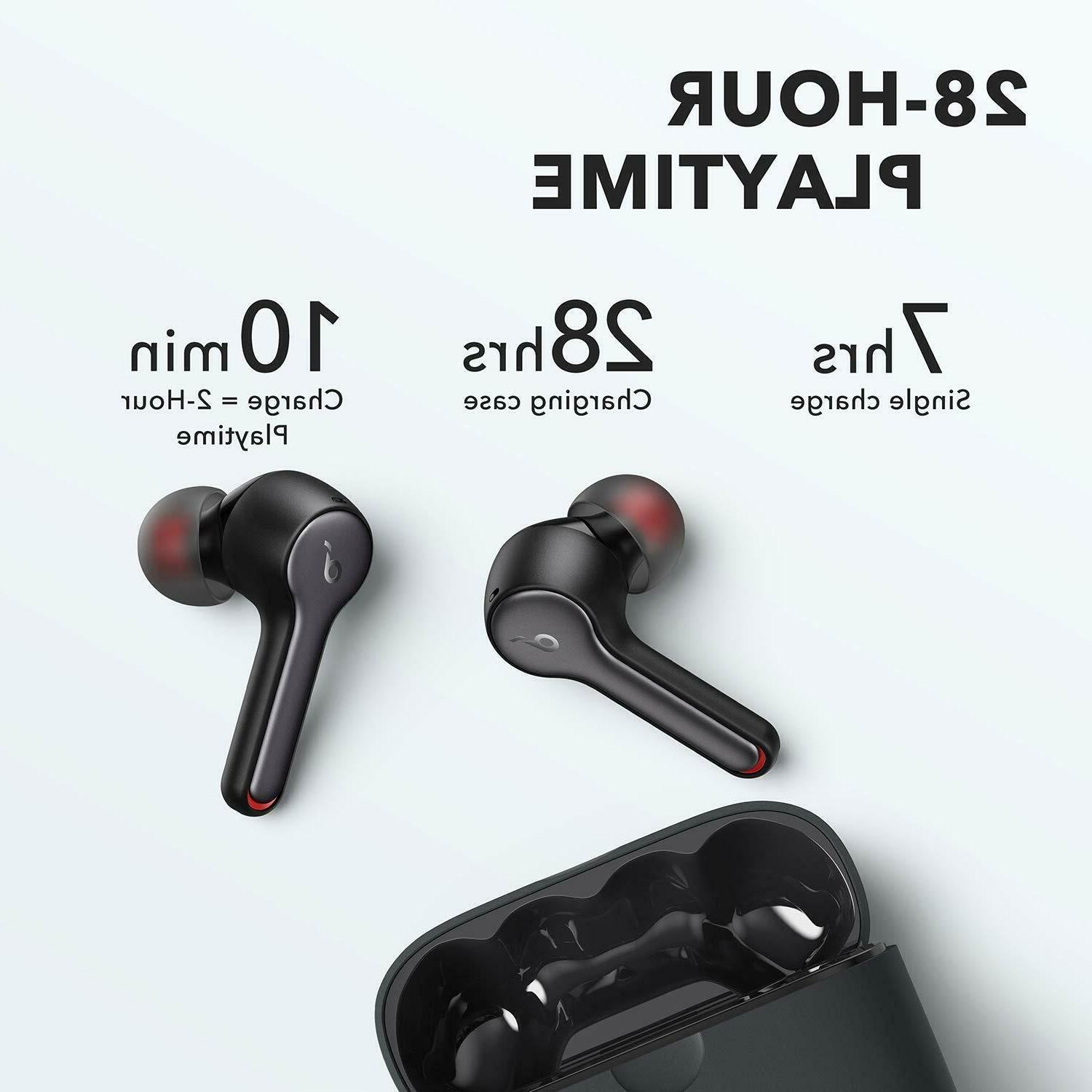 Anker Soundcore 2 Wireless Bluetooth 5 Earphones 4 Mics 28H