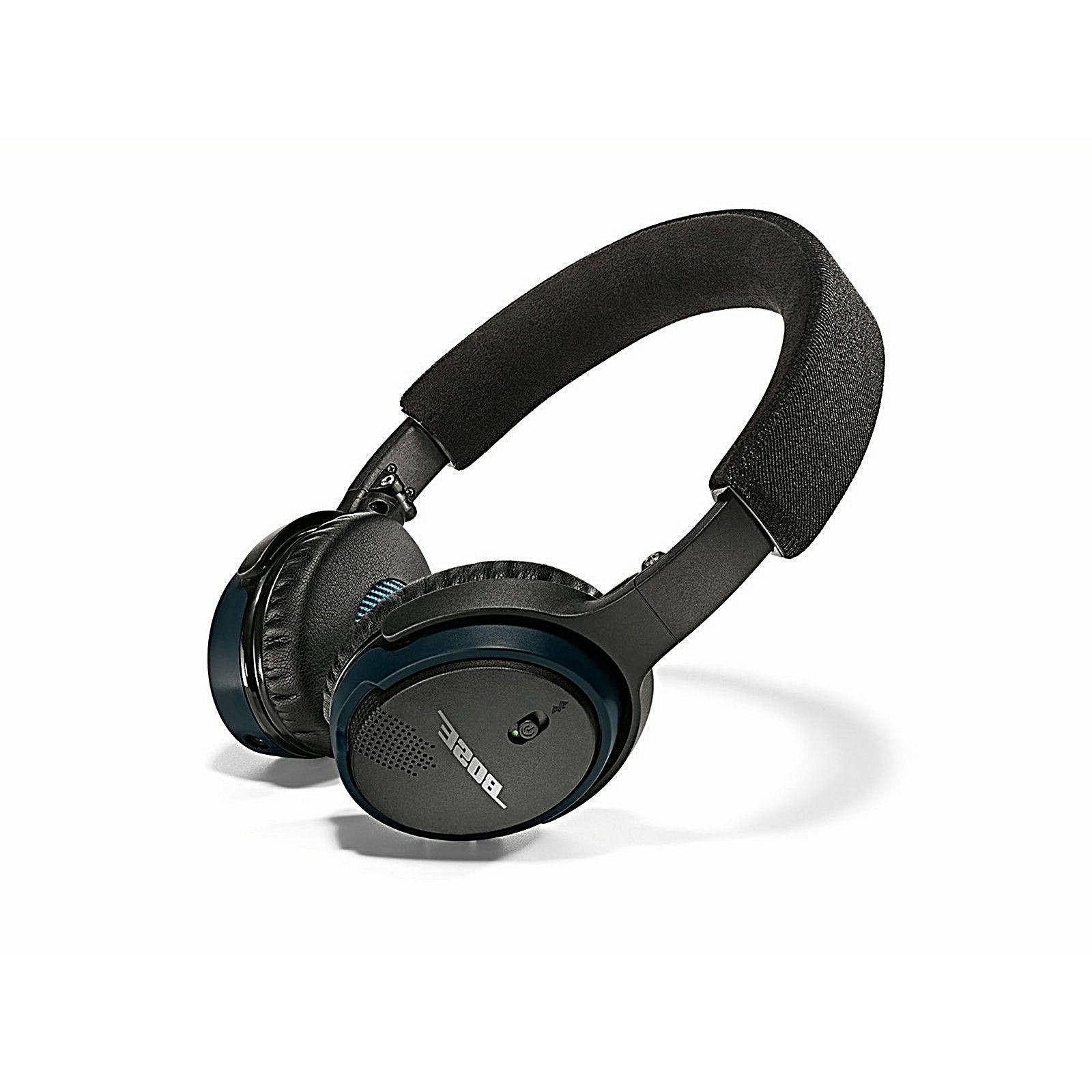 Bose Soundlink On Ear Bluetooth Wireless Headphones Black