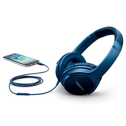 Bose headphones II - Samsung Android Navy