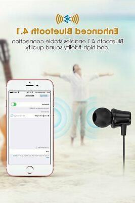 Sport Headphones Earbuds 4.1 with