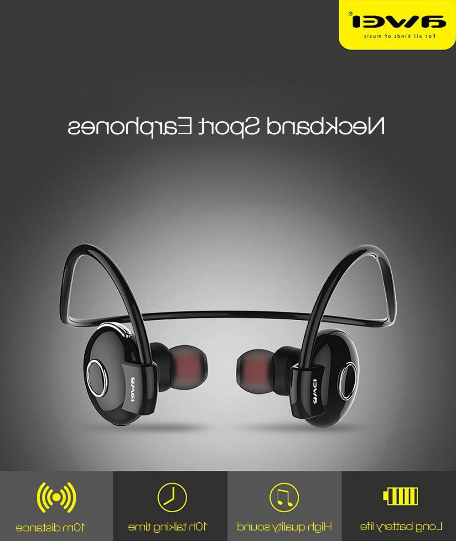 Awei Cordless Wireless Headphone Earphone
