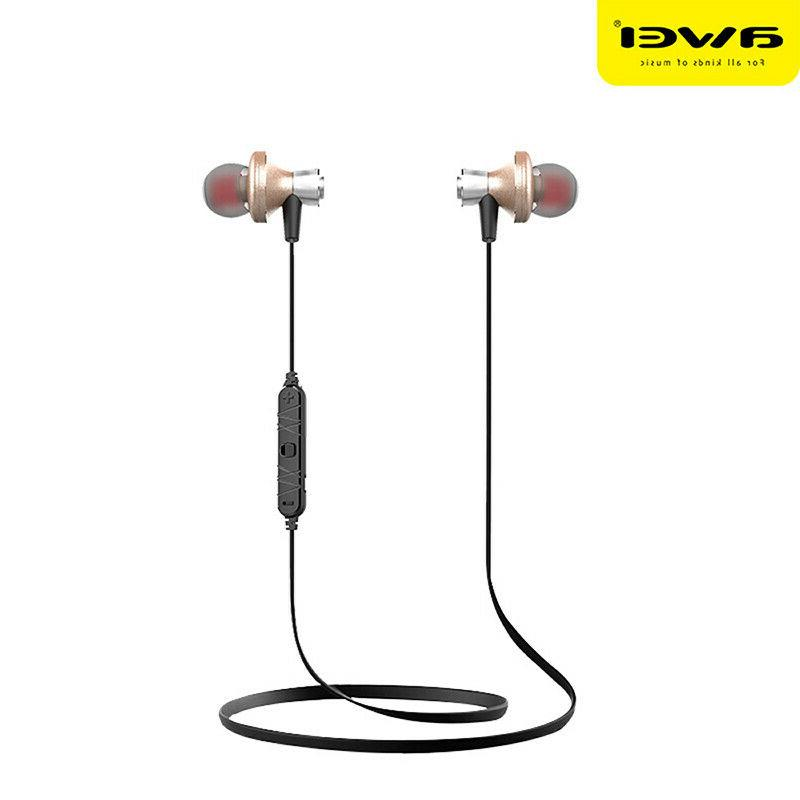 sport wireless bluetooth earphone headset handsfree earbuds