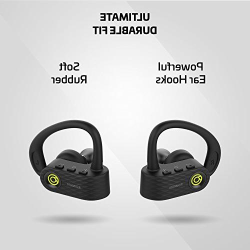 Rowkin True Wireless Headphones, Earbuds, Stereo Hands-Free Headset with Mic & Noise Earphones and