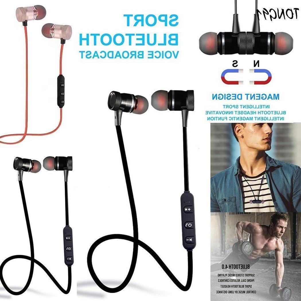 Sweatproof Bluetooth Earbuds Wireless Ear Headsets Earphones