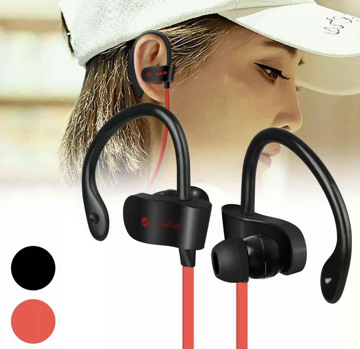 Sweatproof Bluetooth Headphones HD Wireless Headset In-Ear Earbuds Stereo Earbud