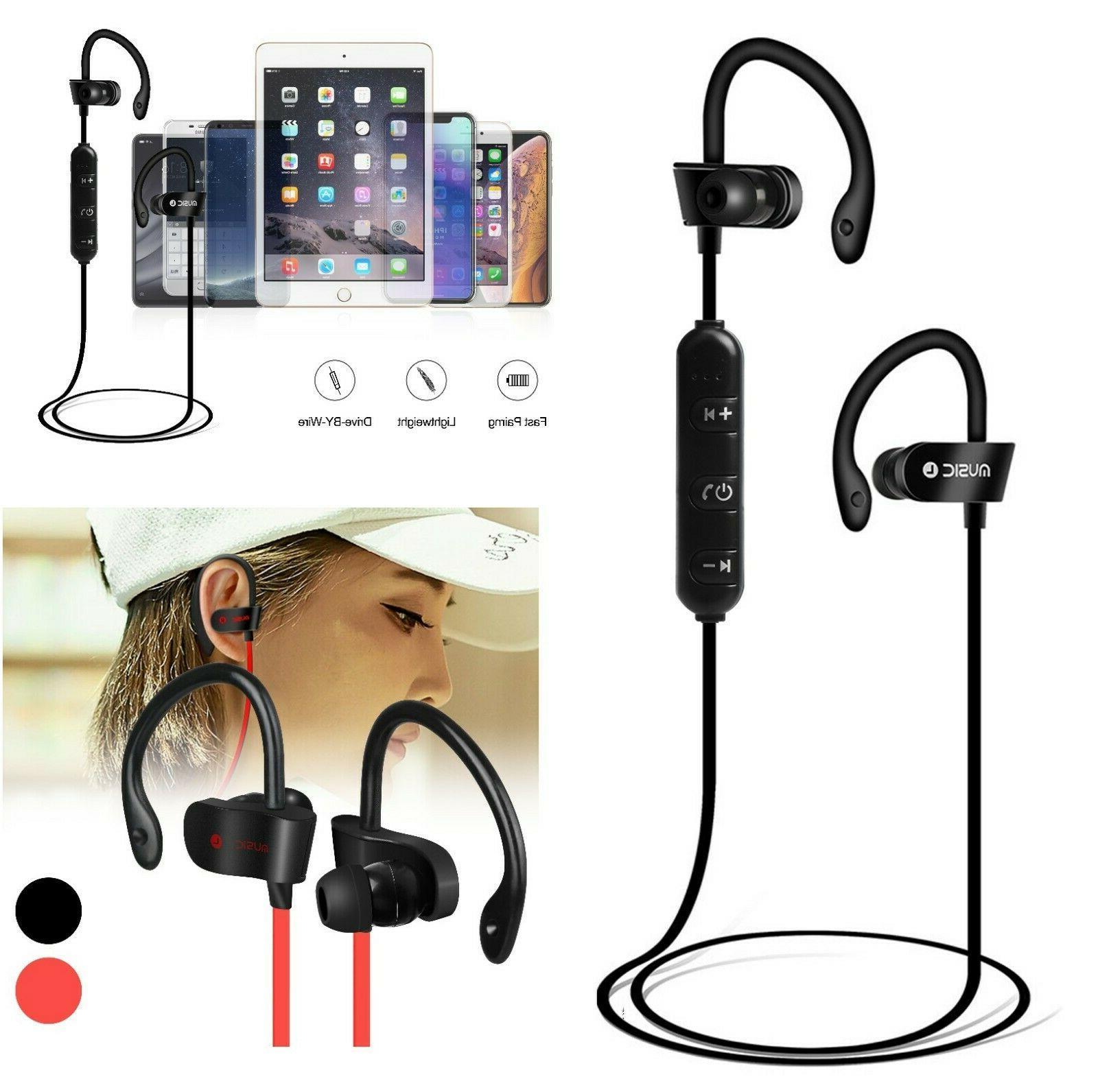 sweatproof sport bluetooth headset wireless headphones in