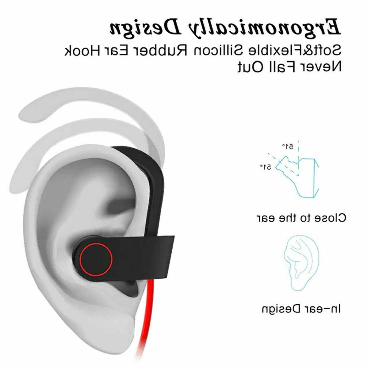 Sweatproof Earphones Earbuds Headset