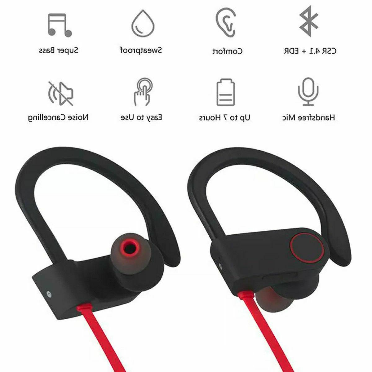 Sweatproof Earphones In Ear Headphones Earbuds Headset