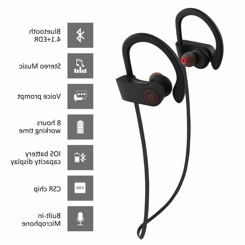 Sweatproof Sports Earphones In Headphones Earbuds