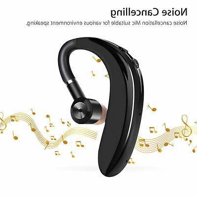 Wireless Bluetooth Headset Sport Earpiece Headphone Sweatproof