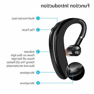 Wireless Bluetooth Headset Sport Headphone Sweatproof