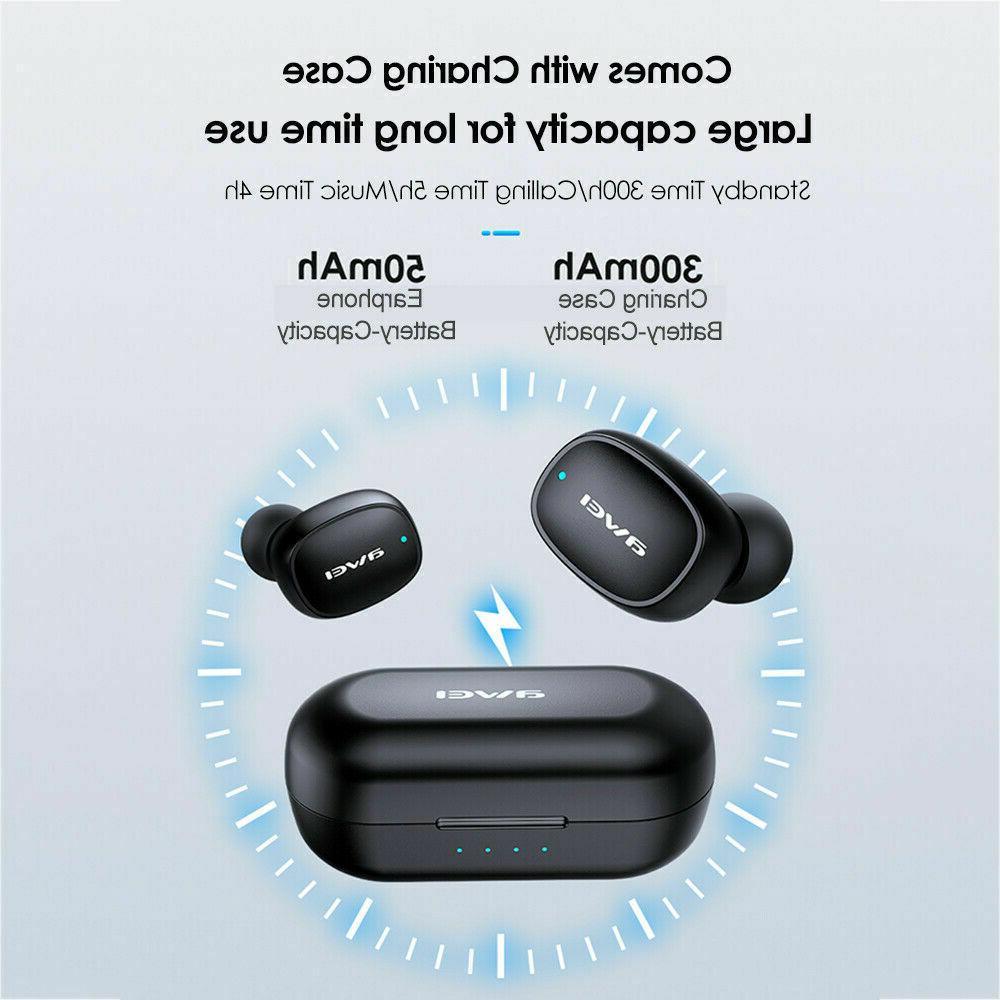 AWEI T13 TWS Earphone Bluetooth Waterproof Headset