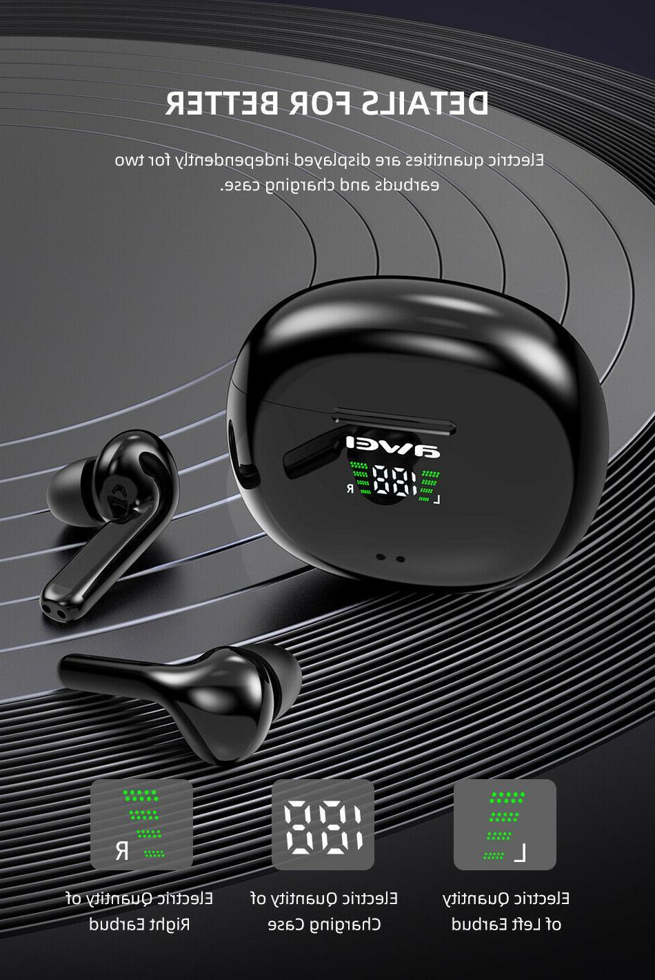 AWEI T15P Headphones Waterproof IPX5
