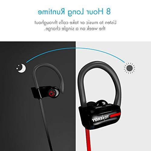 Headphones, Earphones Canceling in-Ear Stereo Earbuds with Bonus Sport Armband