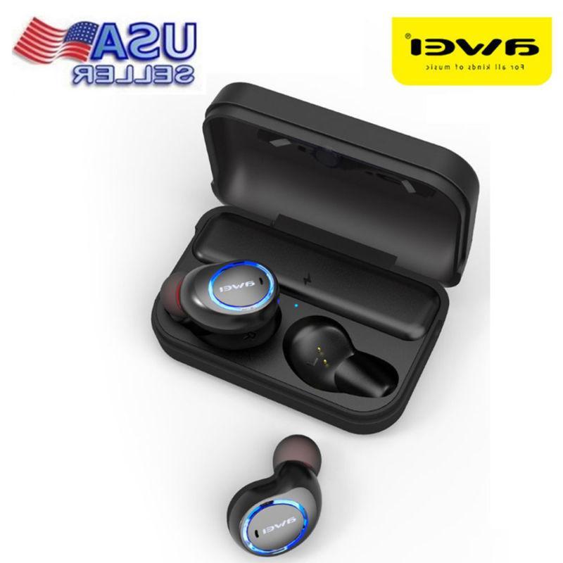 t3 twins wireless earbuds earphone bluetooth headphone