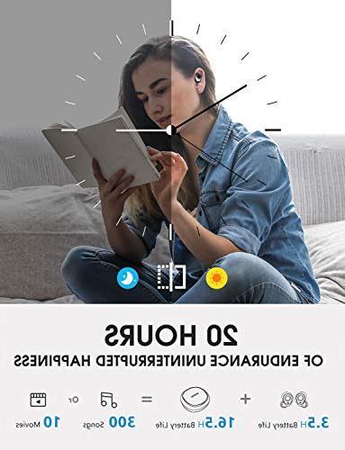 Mpow T3 True Earbuds, Bluetooth Mic, v5.0 iPad,