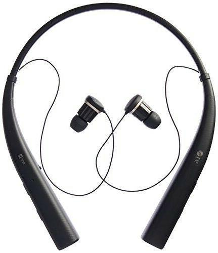 LG Bluetooth Head Set Earbuds Black - - HD