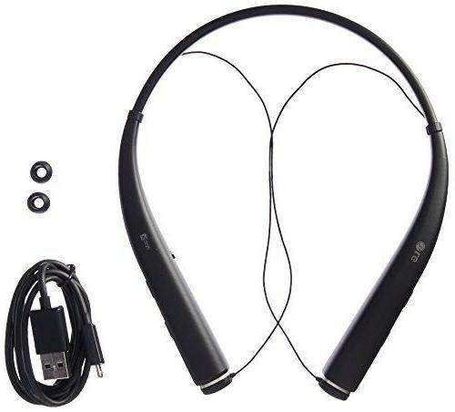 LG Bluetooth Head Set Black Stereo - - HD Mic