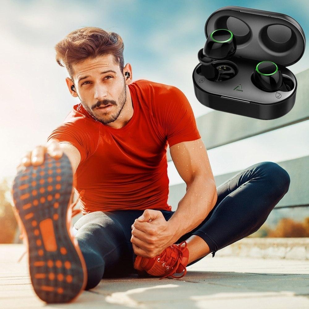<font><b>Earbuds</b></font> <font><b>Bluetooth</b></font> Headphones 3D Stereo Earphones Mic&Charging