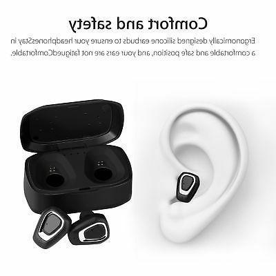 True Bluetooth Earbuds Dual