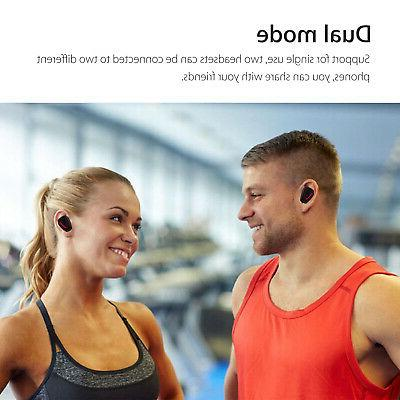 True Dual Stereo Cancelling headphones