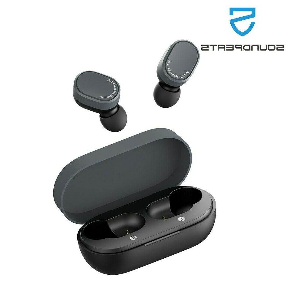 true wireless bluetooth earbuds sensitive touch control