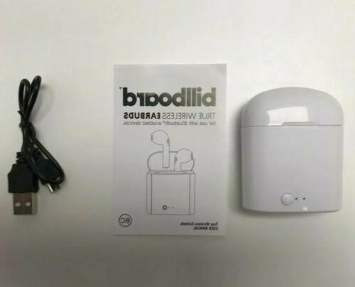 Billboard Wireless Earbuds with Charging Case model