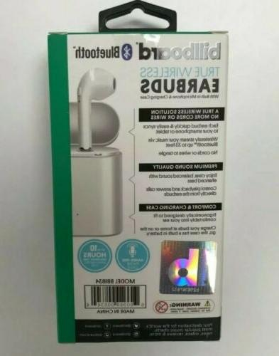 Billboard Earbuds with model