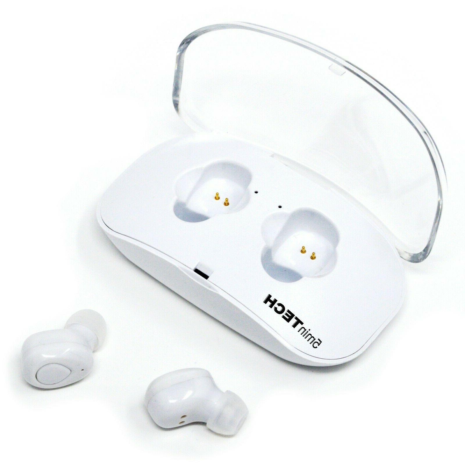 true wireless bluetooth mini earbuds headset earphone