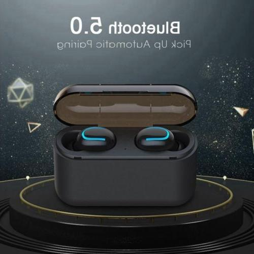 True Wireless Bluetooth5.0 Headset Sports HD Stereo Headphones