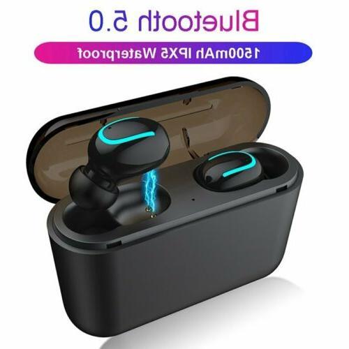 Mini Wireless Earbuds Bluetooth 5.0 Headphone Sport Earpiece