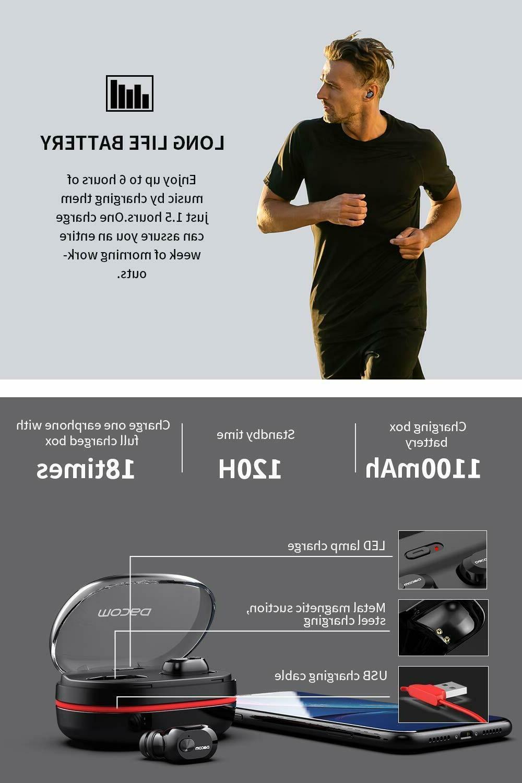 DACOM Bluetooth Bass,Lightweight