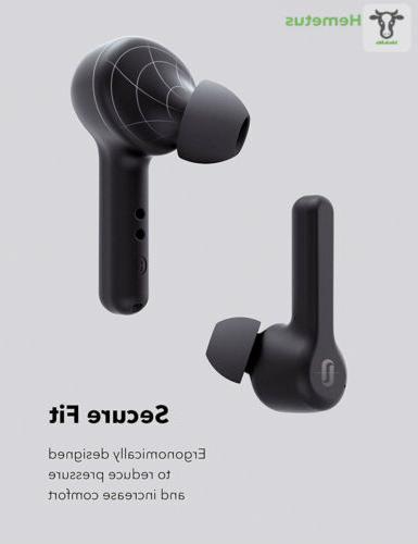 True Earbuds, TaoTronics Bluetooth Headphones V5.0 in-Ear...