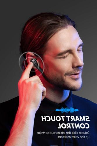 TWS Bluetooth Headphones in-Ear Stereo V5.0 Mic