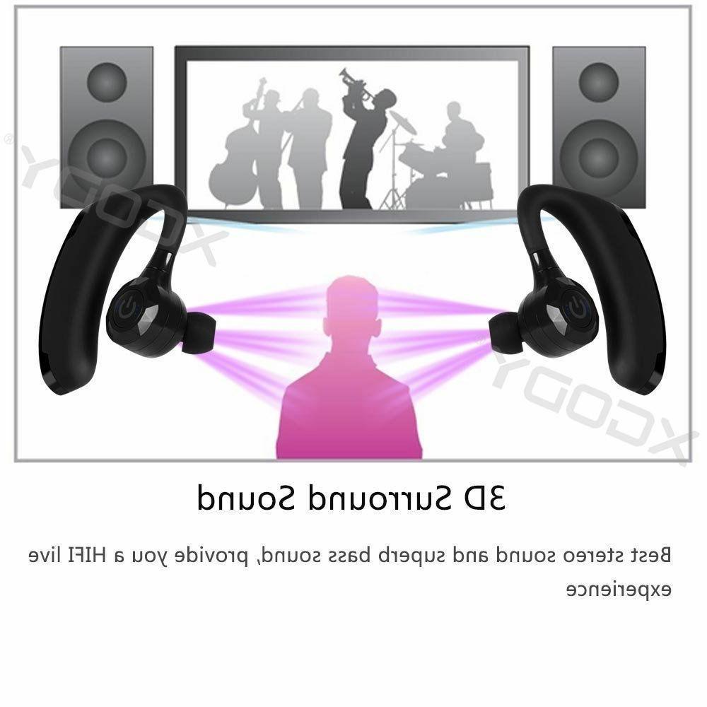 True Wireless Sport Earbuds Headset 5.0 Sports Headphone W/MIc