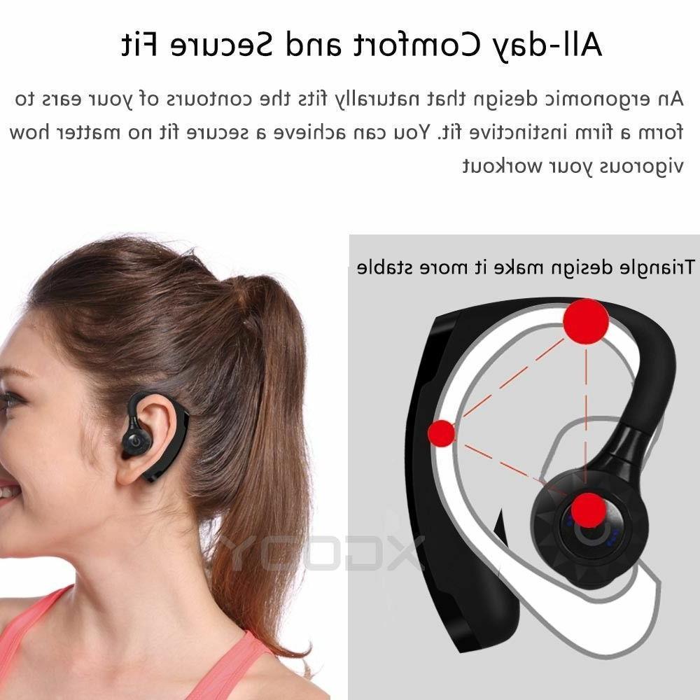 Headset Sports Headphone Ear W/MIc