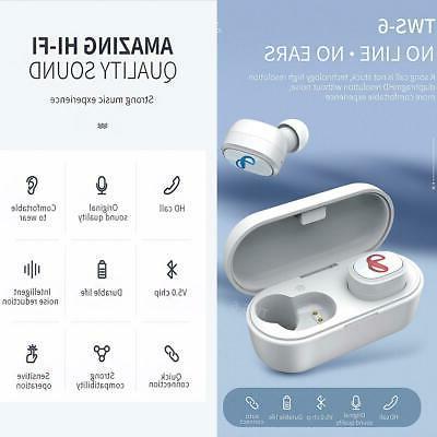 True Earbuds Earphones Charging Case