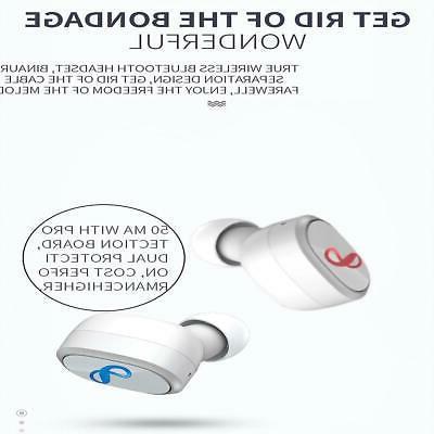 True Wireless Stereo Earbuds Earphones Charging Case