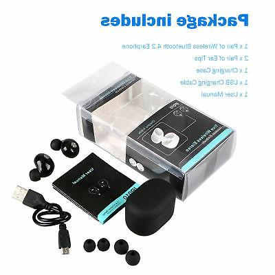 Mini True Twins Bluetooth In-Ear Stereo Earphones Headset