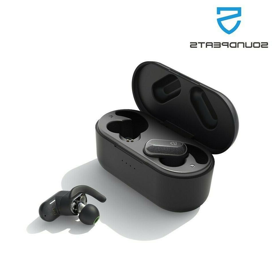 truengine2 tws wireless earbuds dual drivers bluetooth
