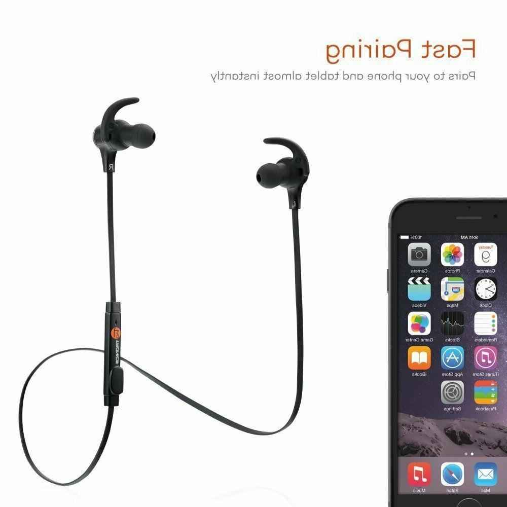 TaoTronics TT-BH07 53-10007-001 Wireless 4.1 Earbuds In-ear