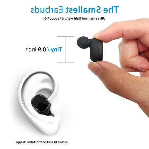 Photive TWS-01 Earbuds with Sound - Easy to Pair