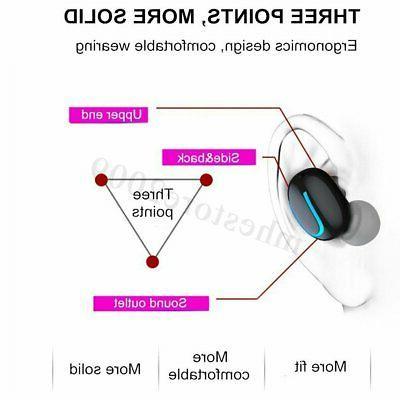 TWS 5D Wireless 5.0 Handsfree Earbuds IPX7