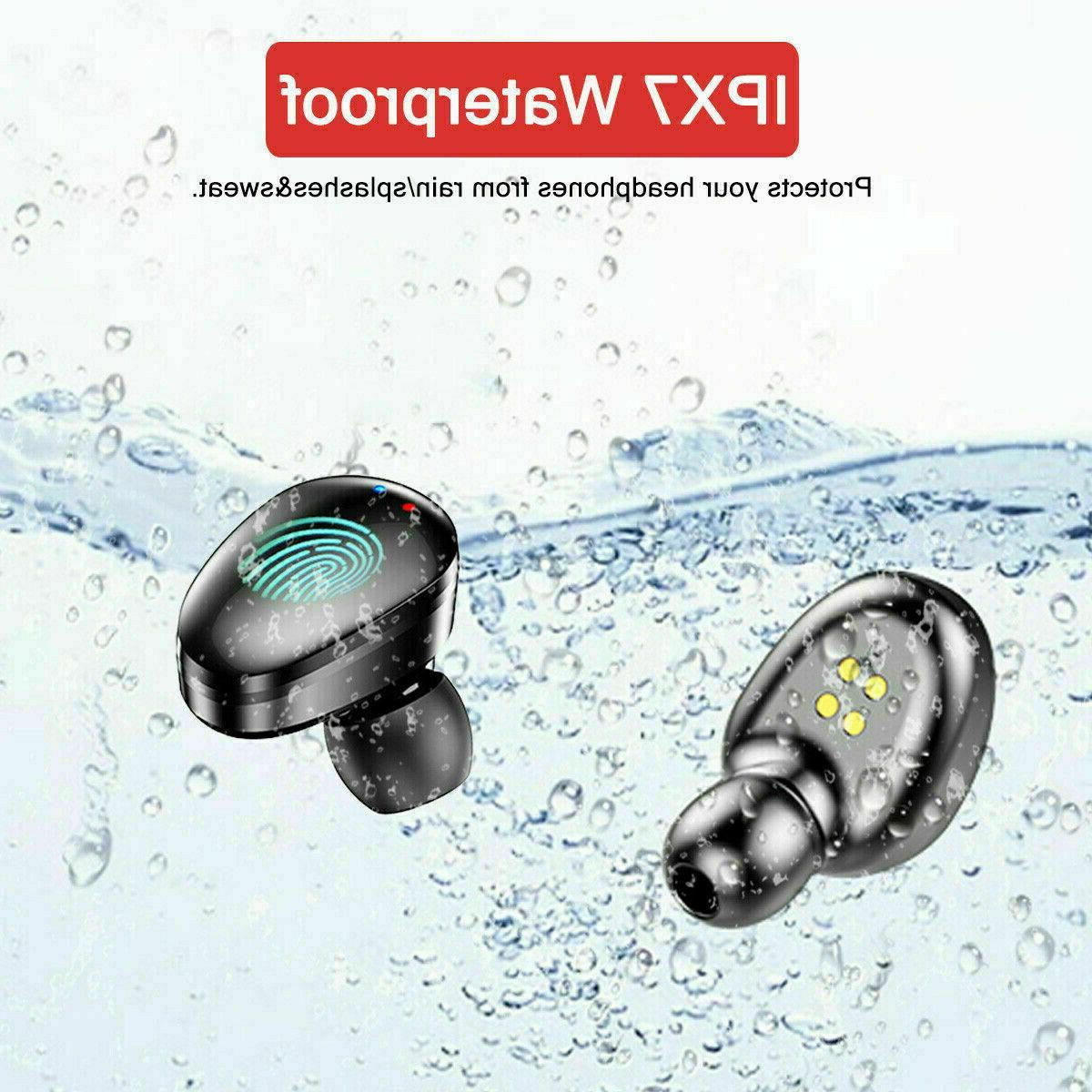TWS Bluetooth 5.0 Wireless Earphones Mini Earbuds Stereo