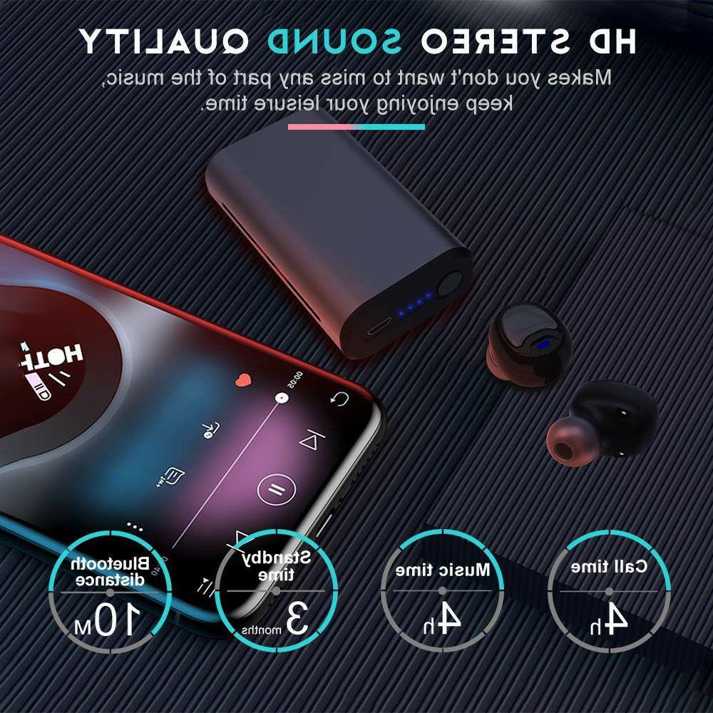 TWS 5.0 Wireless IPX6 HD Earbuds Super US