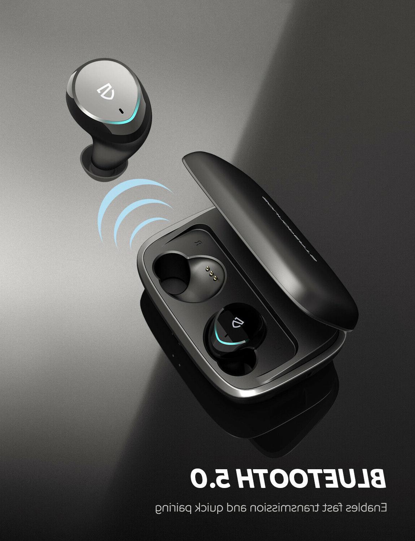 SoundPEATS Bluetooth In-ear Earbuds IPX7 Waterproof