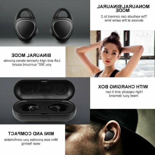 Wireless Sports Headphones In-Ear Earbuds Headset Gear iConX