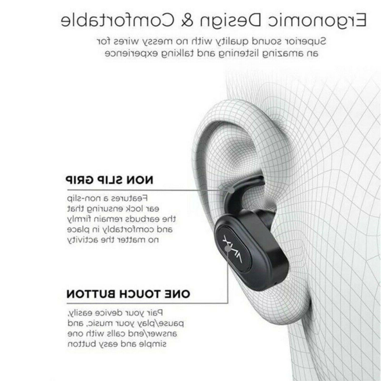 Aduro True Earbuds 5.0 Headphones Headset Charging
